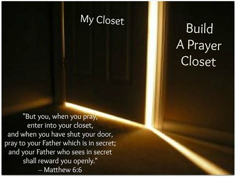 Prayer Closet by Closer Prayer Closet