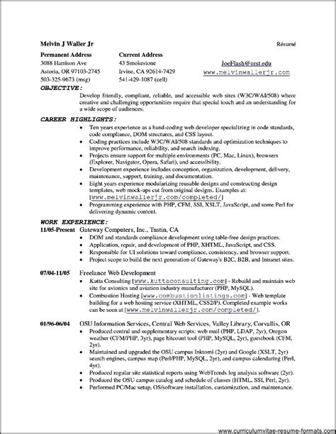 resume open office template open office templates resume free sles exles