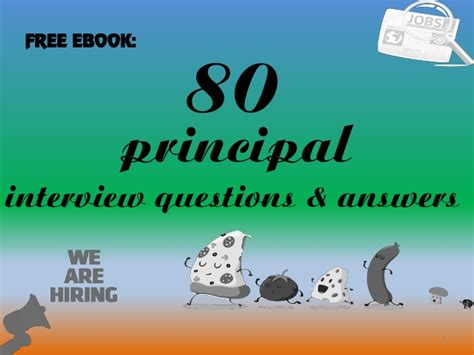 top 10 principal questions with answers