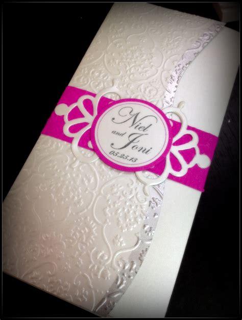 Embossed Wedding Invitations Wedding Invitation Cards Emotista