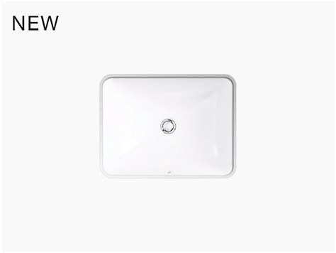 kohler caxton rectangular sink k 20000 caxton 174 rectangular mount bathroom sink