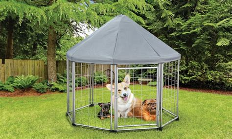 pet gazebo pet gazebo with removable roof groupon goods