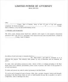 power of attorney uk template sle limited power of attorney form 10 exles in