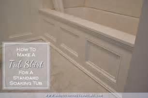 reface bathtub diy tub skirt decorative side panel for a standard apron