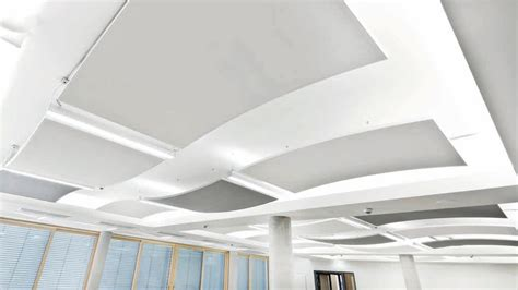controsoffitto knauf acoustic ceiling clouds thermatex 174 sonic arc by knauf amf