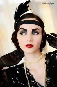 roaring 20s hair styles 20s flapper hairstyles long hairstyles