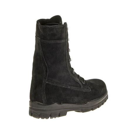 us navy boot c bates womens 9 quot us navy suede durashocks steel toe boot ebay