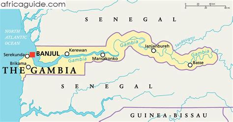 africa map gambia rethinking africa no of the gambia
