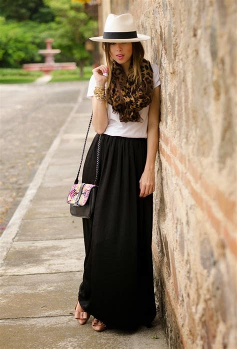 black maxi skirt ideas www imgkid the