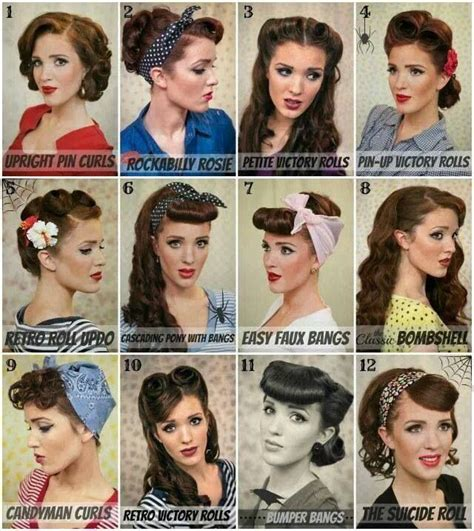 50s Hairstyles ideas   yve style.com
