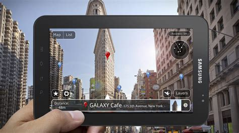 Tv Samsung Layar Cekung samsung smartphone will augmented reality feature to find a place