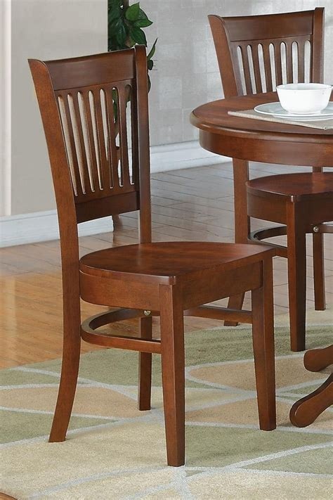 Sturdy Kitchen Chairs by Set Of 6 Sturdy Dinette Kitchen Dining Chairs W Plain