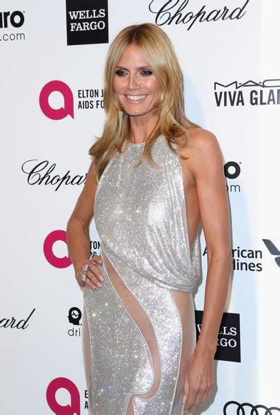 Place Your Bid To Win Heidi Klums Oscar Dress by Heidi Klum Photos Photos Arrivals At The Elton Aids