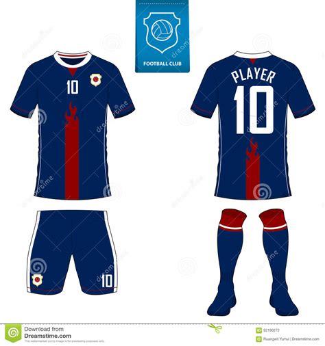 football jersey design vector soccer kit or football jersey template for football club