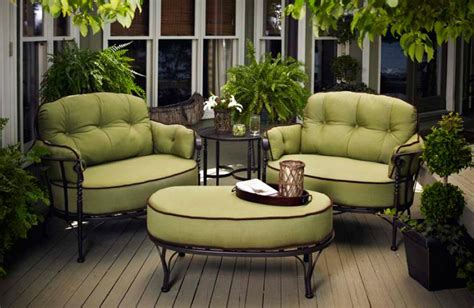 green patio furniture home outdoor