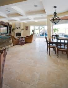 ivory cream french pattern travertine tiles contemporary living room ta by stone mart