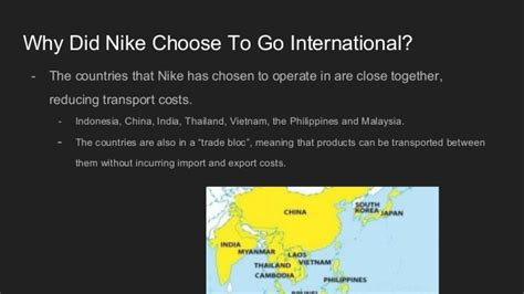 Go International Goes For by The Global Presence And Demographic Focus Of Nike