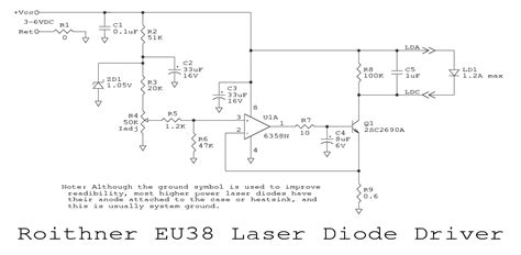 laser diode driver monitor photodiode sam s laser faq diode laser power supplies