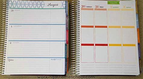 horizontal layout instagram erin condren life planner review horizontal vs vertical