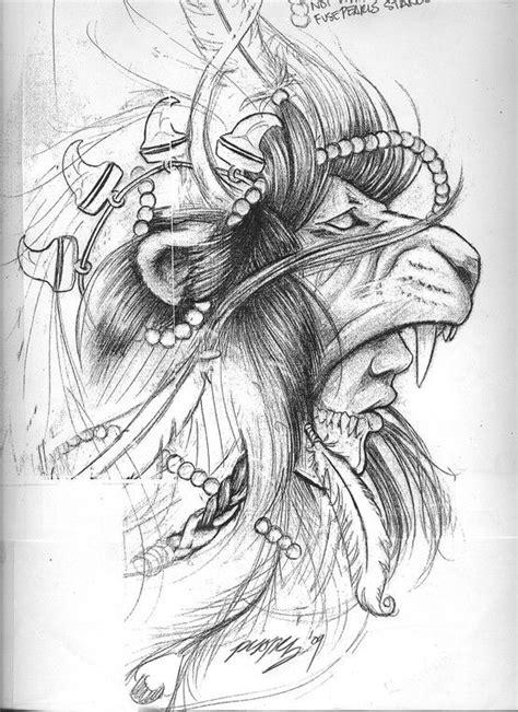 indian lion tattoo lion head warrior tattoos pinterest warriors tattoos and body art and lion