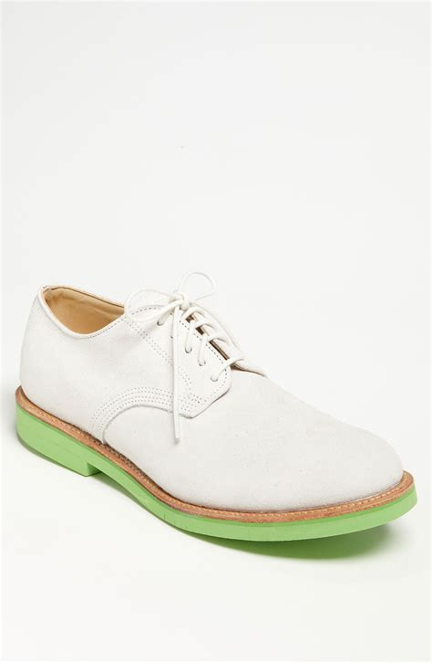 white buck shoes walk derby buck shoe in white for white suede