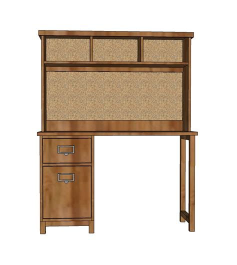 Ana White Schoolhouse Desk Hutch Diy Projects Hutch Desk