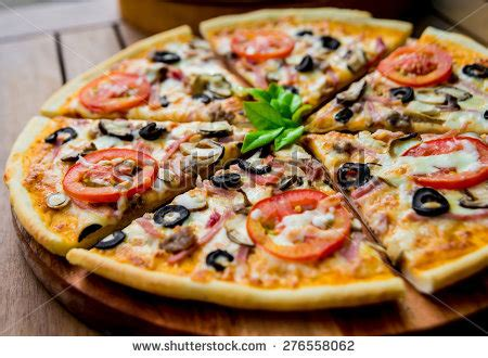 large pizza table large pizza stock images royalty free images vectors