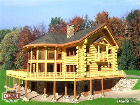 log home plans tennessee log home floor plans 3000 5000 sq ft cascade handcrafted