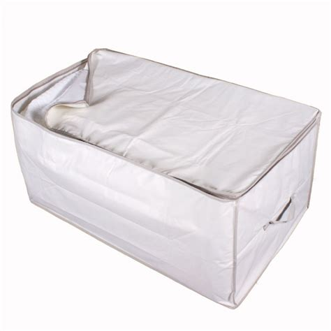 Storage Bag Flower Box Jumbo Cloth Cover Bed Organizer pillow storage