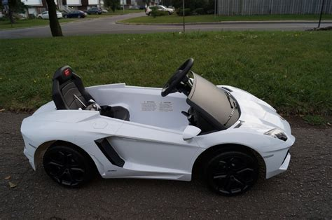 Ride In A Lamborghini Lamborghini Lp700 Aventador 6v Electric Children S Battery