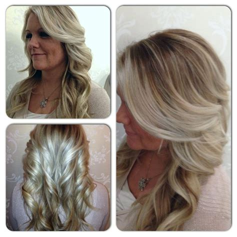 are chunky highlights out of style blonde highlights are as timeless and they are beautiful