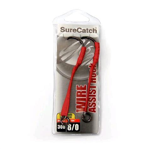 Assist Hook 11 0 Stainless surecatch wire assist hooks