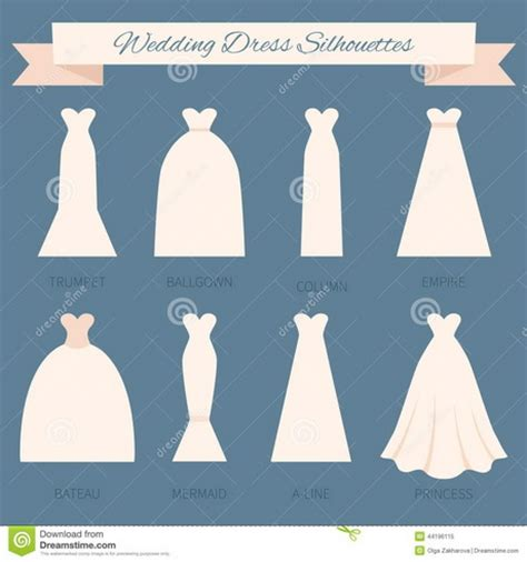 different dress types styles different wedding dress styles