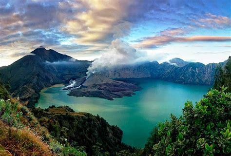 Kaos Gunung Rinjani Lombok 1 gunung rinjani ditutup bagi wisatawan pendaki portal berita bisnis wisata