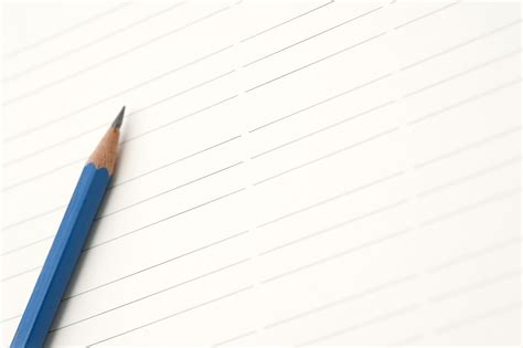 How To Make A Paper Pencil - image gallery lined paper and pencil