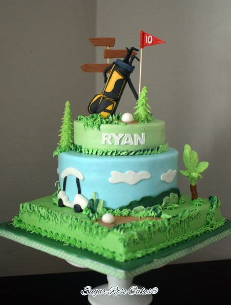 golf themed cake decorations 10 ideas about golf themed cakes on golf