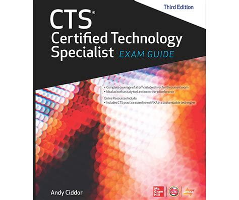 Avixa Releases Cts Certified Technology Specialist Exam