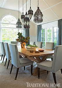 Dining Room Lantern Lighting Lovely Southton Summer Home Traditional Home