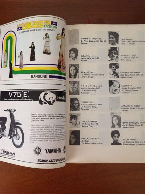 50 Tahun Indonesia Merdeka Lengkap 2 Jilid antikpisan buku unik dan antik 5000 alamat artis indonesia yang populer tahun 1970an sold