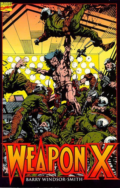 libro lobezno arma x un universo de vi 209 etas 1991 arma x barry windsor smith