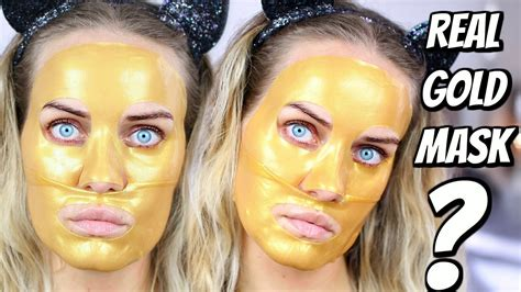 Mask Gold 24k 24k gold mask review
