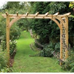 large sturdy square top wooden garden rose arch pergola westmount living