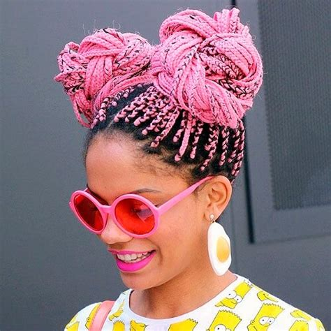 pictures of colored hair box braid buns 50 glamorous ways to rock box braids hair motive hair motive