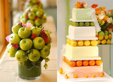 Fruit For Decoration by Wedding Centerpieces Decorations With Fruits Wedding