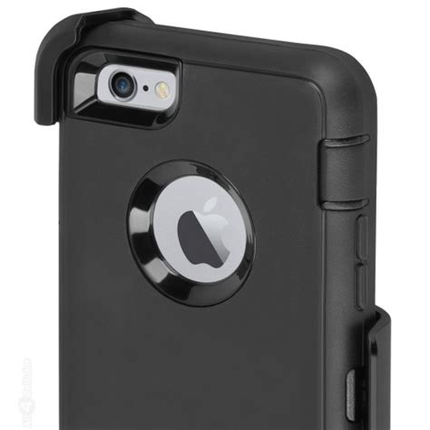 Otterbox Defender Series Iphone 6 Black otterbox iphone 6 6s defender series holster black refurbished a4c