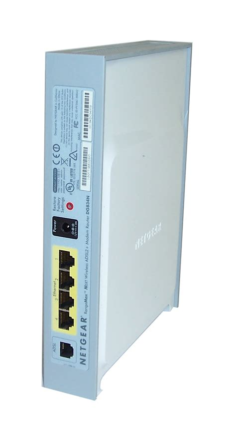 Router Plus Modem netgear dg834n rangemax next wireless adsl2 plus modem