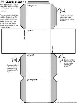 Free Story Cube Project For Any Novel Secondary English
