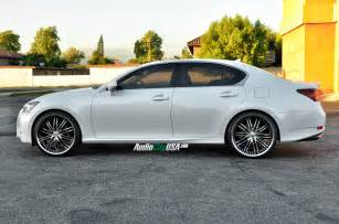 Lexus Gs 350 22 Inch Rims 2014 Lexus Gs 350 On 22 Quot Xix X 23 Black Machine Chrome Lip