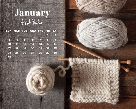 knitting background january 2016 calendar knitpicks staff knitting