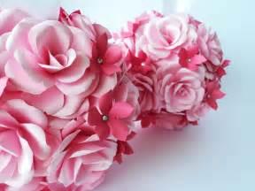 bola flores papel elo7